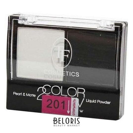 Тени для век COLOR SHOW EYESHADOW Тон 201 Белый и черный