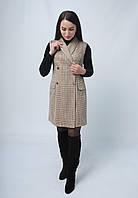 Плаття-жилетка з еко замші