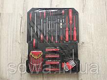 ✔️ Набор инструментов, ключей в чемодане Аl-fa 186шт, фото 3