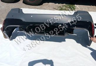 Задний бампер BMW G30 стиль M5