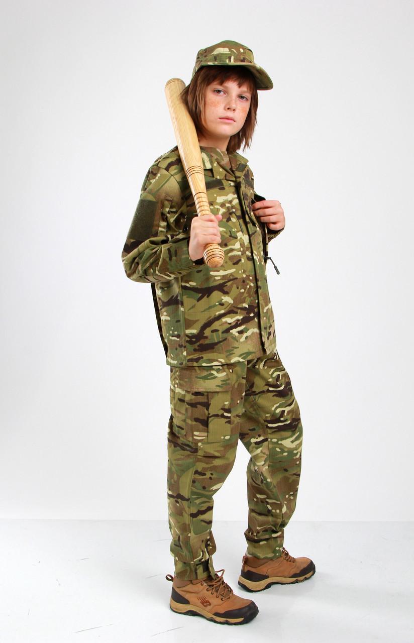 Военная форма для детей костюм Киборг 2 камуфляж MTP копия взрослого костюма