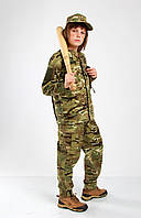 Костюм детский камуфляжный военная форма для детей Киборг 2 камуфляж MTP копия взрослого костюма