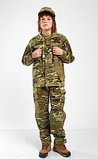 Военная форма для детей костюм Киборг 2 камуфляж MTP копия взрослого костюма, фото 2