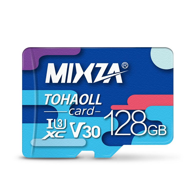 MIXZA 128G U3 Профессиональная высокоскоростная карта памяти для мобильного телефона Видеорегистратор IP Sport камера - 1TopShop