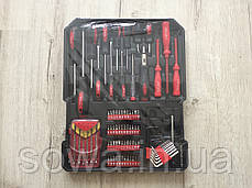 ✔️ Набір ключів al-fa 186 шт  ( C45 инструментальная сталь и Cr-V хром-ванадый ), фото 3