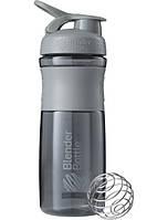 Спортивная бутылка-шейкер BlenderBottle SportMixer 820ml Grey, Original (144856)