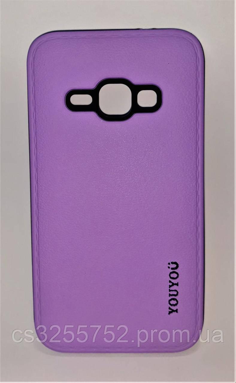 Силикон Samsung J120 (2016) YouYou фиолетовый