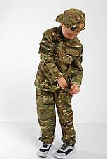 Военная форма для детей костюм Киборг камуфляж MTP копия взрослого костюма, фото 2