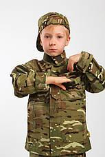 Военная форма для детей костюм Киборг камуфляж MTP копия взрослого костюма, фото 3