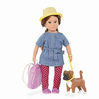 Лялька Lori  Надін і собака боксер Наш (LO31024Z)