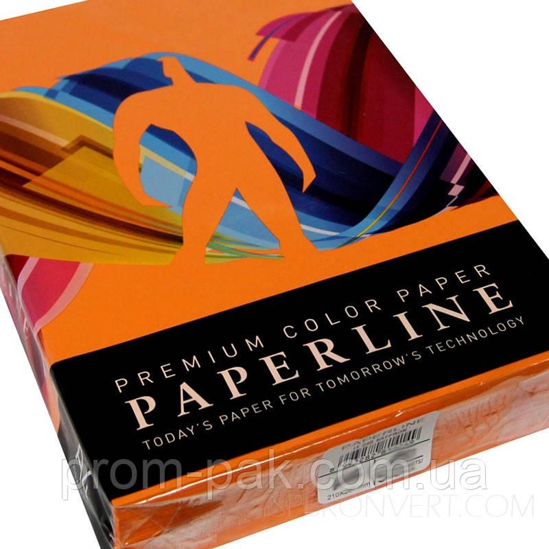 Бумага цветная Color Offset Paper A3 75 371 Orange
