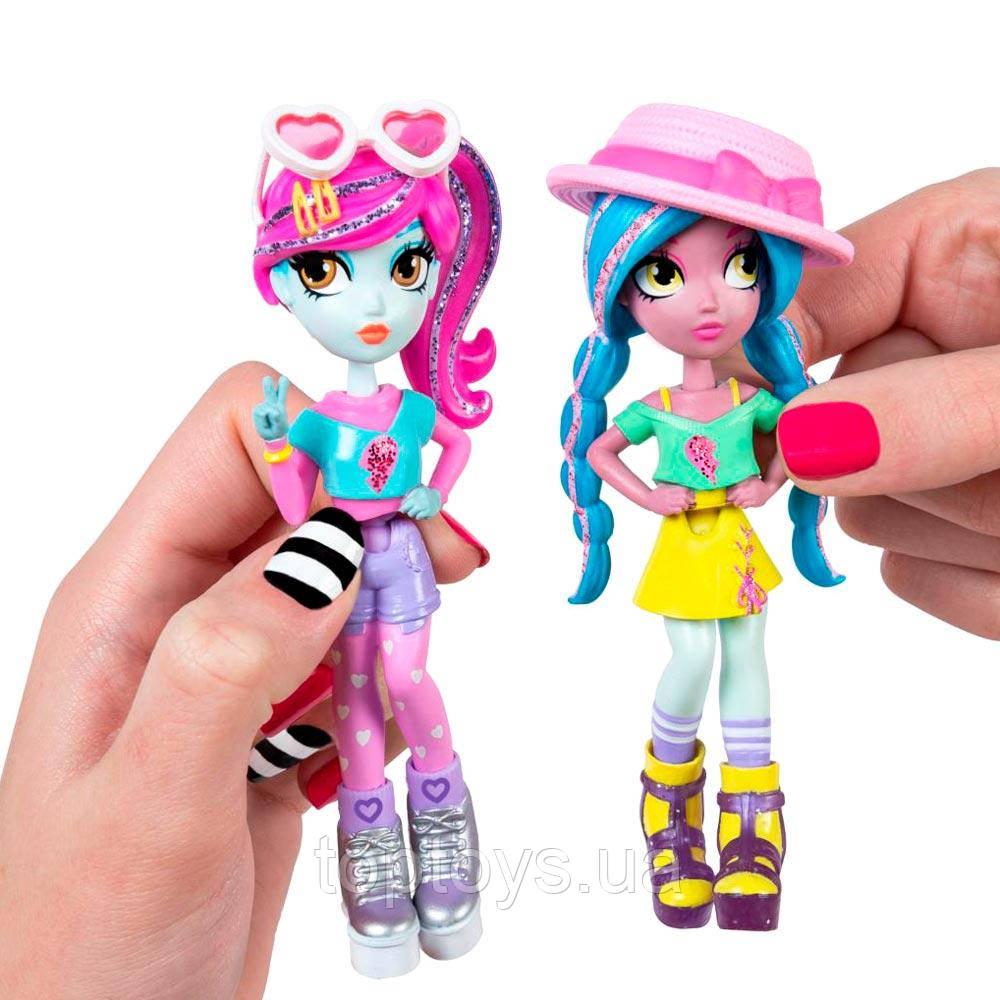Ігровий набір з двох стильних ляльок Off the Hook Літня відпустка (SM74301 / 0045)