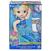 Лялька Hasbro Крихітка-русалка блондинка (E3693)