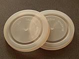 Крышка пластмассовая белая СКО І-82, фото 2