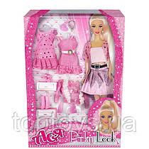 Лялька Ася Рожевий стиль Блондинка з аксесуарами (35080)