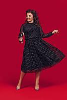 """Платье больших размеров """" Флок """" Dress Code, фото 1"""