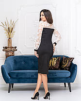 Платье футляр миди  04с544, фото 2