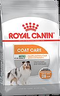 Royal Canin Mini MINI COAT CARE 1 кг для собак маленьких пород  с тусклой и сухой шерстью