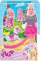 Лялька Ася Прогулянка верхи з аксесуарами (35104)