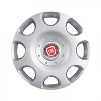 "Колпаки для колес 15"" c логотипом автомобиля 4 шт (SKS 307) Fiat"
