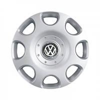 """Колпаки для колес 15"""" c логотипом автомобиля 4 шт (SKS 307) VolksWagen"""