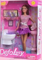 Лялька з аксесуарами Defa У ванній кімнаті (8200)