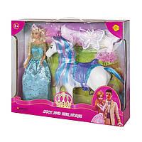 Лялька Defa з конячкою (8209)