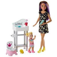 Набір Догляд за малюками Barbie горщик і столик (FHY97)