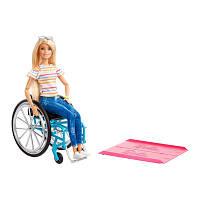 Набір Barbie Fashionistas Барбі у кріслі візку (GGL22)