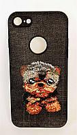 Чехол-накладка Dog for iPhone 7/8 черный