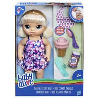 Лялька Hasbro Baby Alive Малятко з морозивом (C1090)
