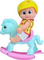 Лялька Bouncin' Babies Baniel з конячкою (801003)