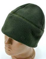 """Флисовая мужская шапка """"Хаки"""", фото 1"""