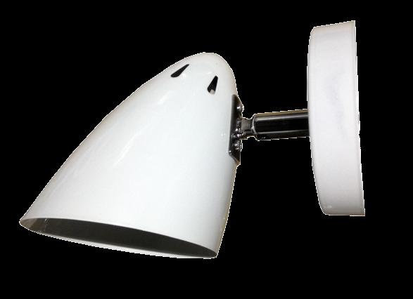 Светильник настенный бра белый 60В Е27 IP20 DINO ТМ LUMANO