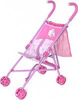 Коляска для ляльки Zapf Creation Baby Born Чарівна Прогулянка складна з сумочкою (1423574)