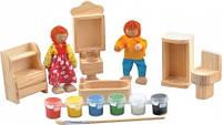 Набір для творчості Світ дерев'яних іграшок Ванна Кімната (Д246)