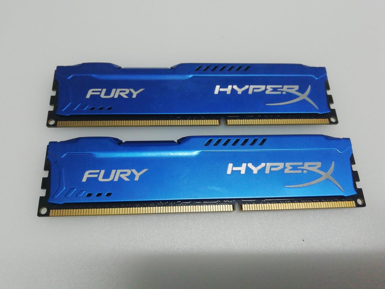 Оперативная память Кит 8Гб(2*4ГБ) 1600 МГц HyperX Kingstone Fury