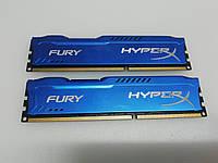 Оперативная память Кит 8Гб(2*4ГБ) 1600 МГц HyperX Kingstone Fury, фото 1