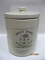 Емкость керамическая для чая 850 мл .