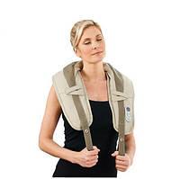 Электрический ударный массажер для шеи и плеч Cervical Massage Shawls 99 режимов работы