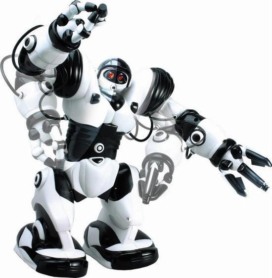 Детский Робот на р/у 28091 (Бело-черный)