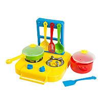 Набір посуду столовий Ромашка з плиткою 7 елементів (39150)