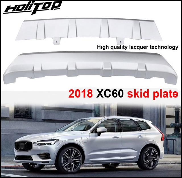 Передняя и задняя накладки (2 шт) Volvo XC60 2017↗ гг.