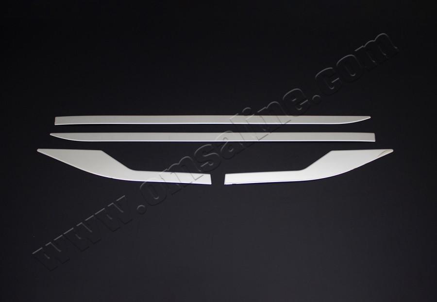 Молдинг дверной OmsaLine (4 шт, нерж.) 2016↗ Toyota C-HR