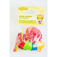 Набір посуду  Ромашка на 4 персони з цукорницею ЛЮКС (39088)