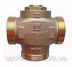 """Трехходовой термосмесительный клапан HERZ-TEPLOMIX для повышения температуры обратной линии DN 32 ,1 1/4"""""""