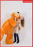 Большая игрушка медведь 180 см медовый