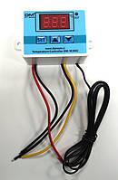Цифровий термостат терморегулятор DM-W3002 з датчиком температури, живлення 12 вольт, фото 1