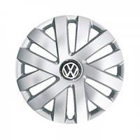"""Колпаки для колес 15"""" c логотипом автомобиля 4 шт (SKS 315) VolksWagen"""