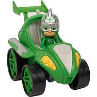 Cупер-авто Гекко, Пи Джи Маски, Гонщики - Just Play, PJ Masks, Power Racers, Gekko-Mobile, фото 1